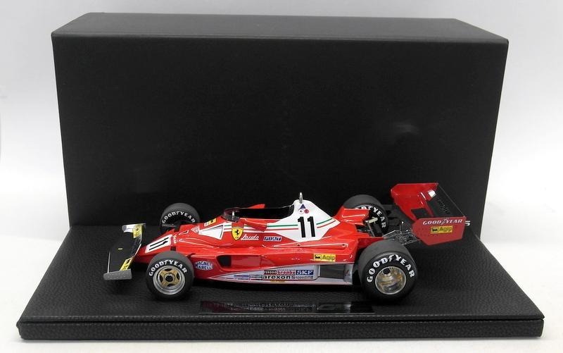 Niki Lauda GP Replicas 1/18 Scale - GP14A Ferrari 312 T2 1977 Niki Lauda World Champion Early Version