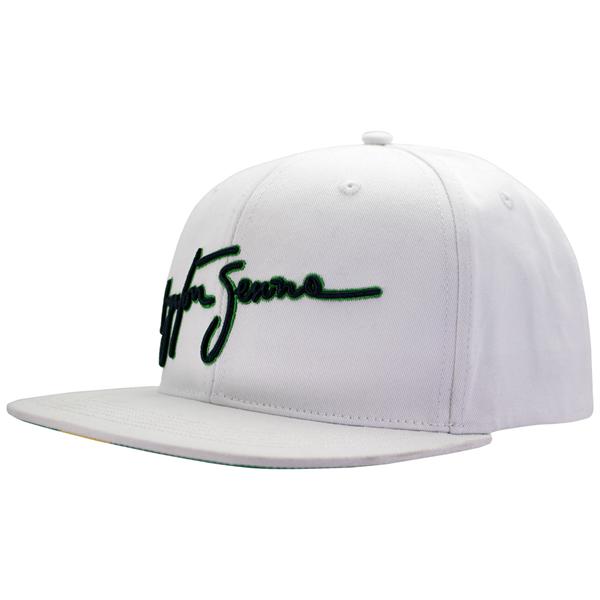 Ayrton Senna Šiltovka  Signature Flat Brim White