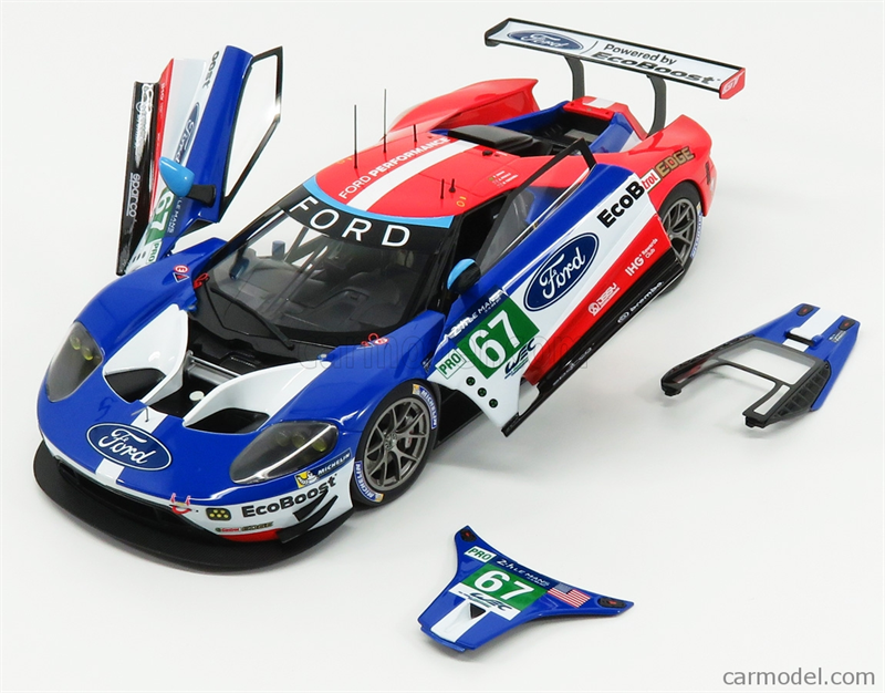 Model AUTOART - FORD USA - GT 3.5L TURBO V6 TEAM FORD 24 Le Mans
