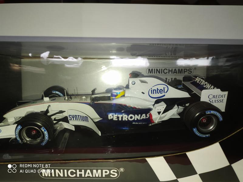MINICHAMPS MODEL Sauber BMW C24B
