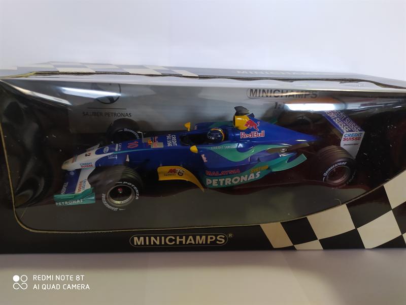 MINICHAMPS MODEL Sauber Petronas H.H. Frentzen