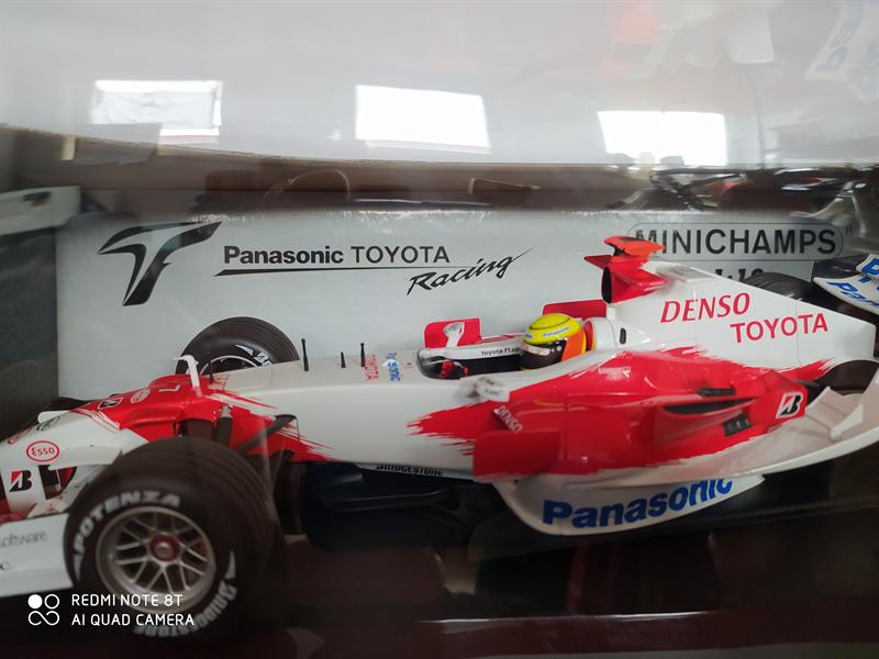 MINICHAMPS MODEL Model  Toyota Panasonic Racing TF106