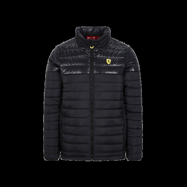 Pánska Zimná vetrovka Scuderia Ferrari čierna