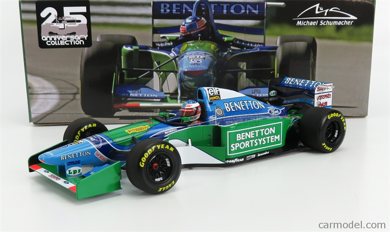 MINICHAMPS MODEL BENETTON - F1 B194 FORD N 5 WINNER CANADA GP MICHAEL SCHUMACHER 1994 WORLD CHAMPION