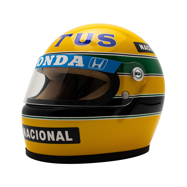 Ayrton Senna Helma 1987 Scale 1:2