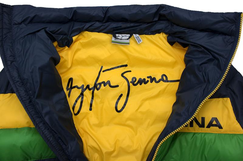Páperová zimná Vetrovka Ayrton Senna Track Racing