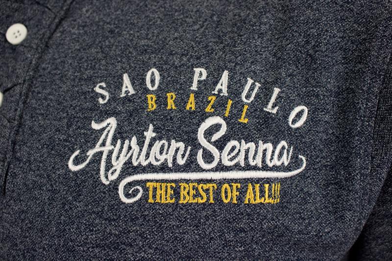 Polokošeľa Ayrton Senna Sao Paulo