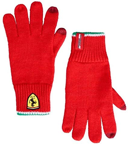 Rukavice Scuderia Ferrari červené