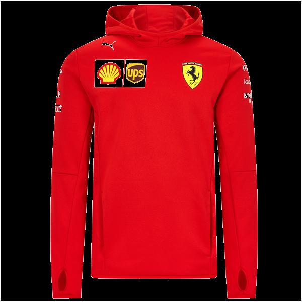 Tímová Mikina Tech Fleece Scuderia Ferrari