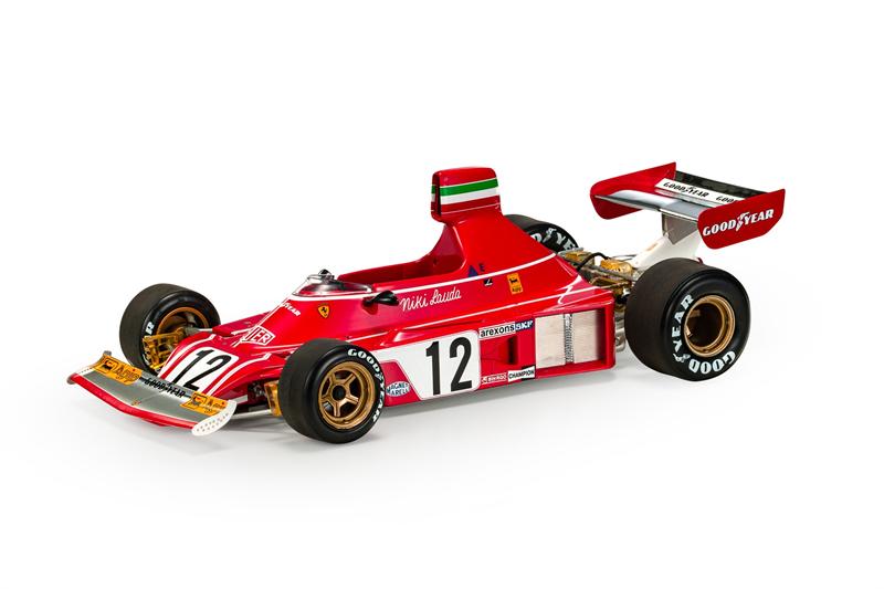 GP REPLICAS MODEL - FERRARI - F1 312 B3 Niki Lauda