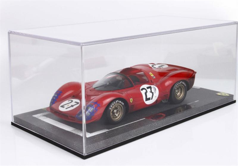 Model Ferrari 330 P3 Spider 24H Le Mans 1966 End Of Race
