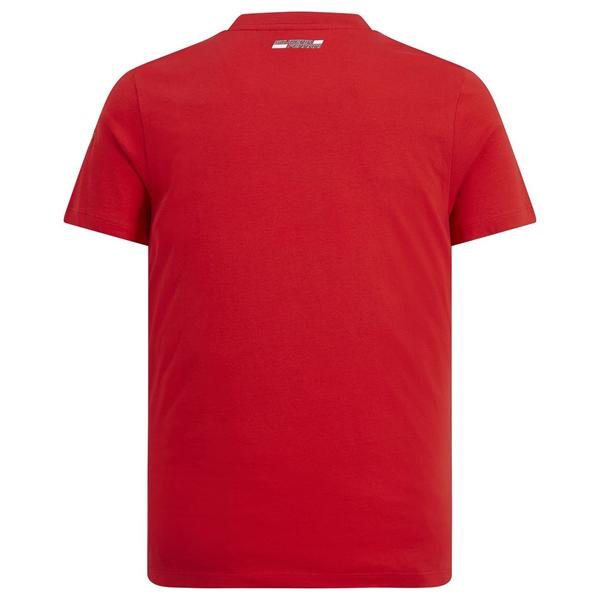 Tričko Scuderia Ferrari Shield červené