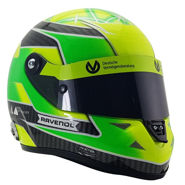 Mick Schumacher miniature helmet Belgium Spa 2018 1/2