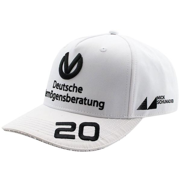 Mick Schumacher Šiltovka 2020 biela