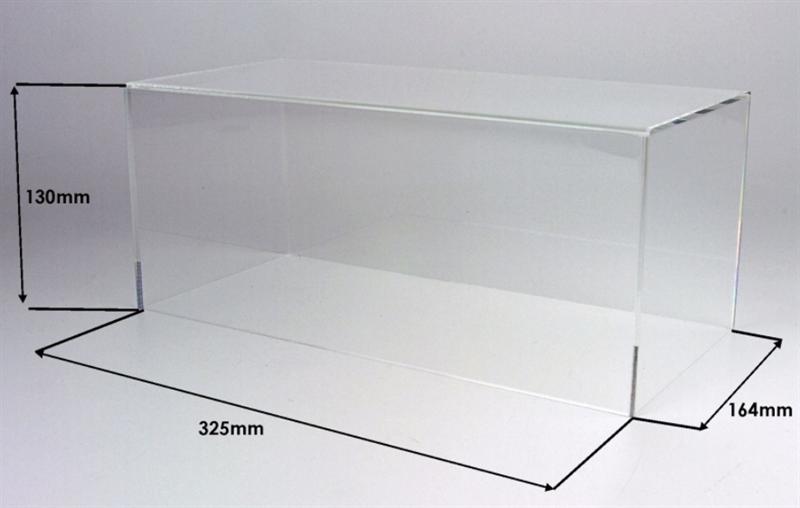 Plastová vitrína na Modely 1:18