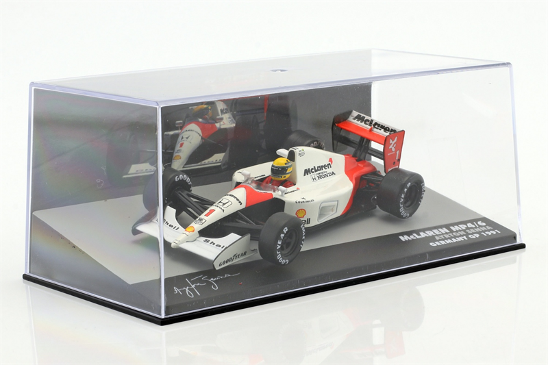 Model Ayrton Senna McLaren MP4/6 #1 World Champion formula 1 1991 1/43