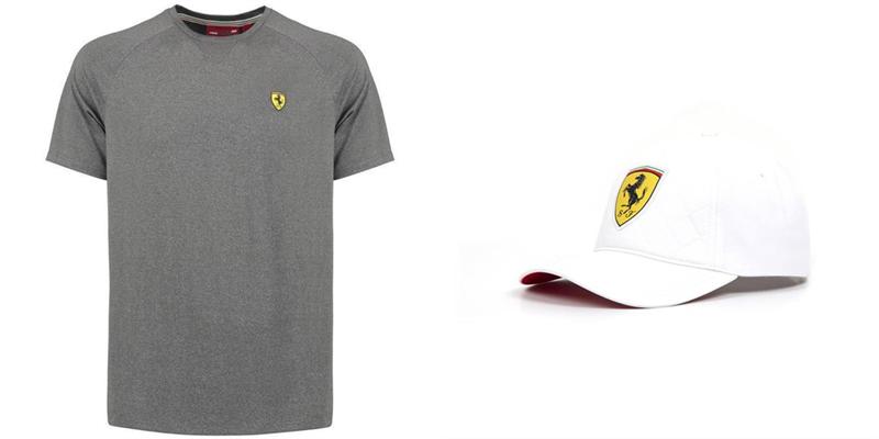 Set tričko + šiltovka Scuderia Ferrari