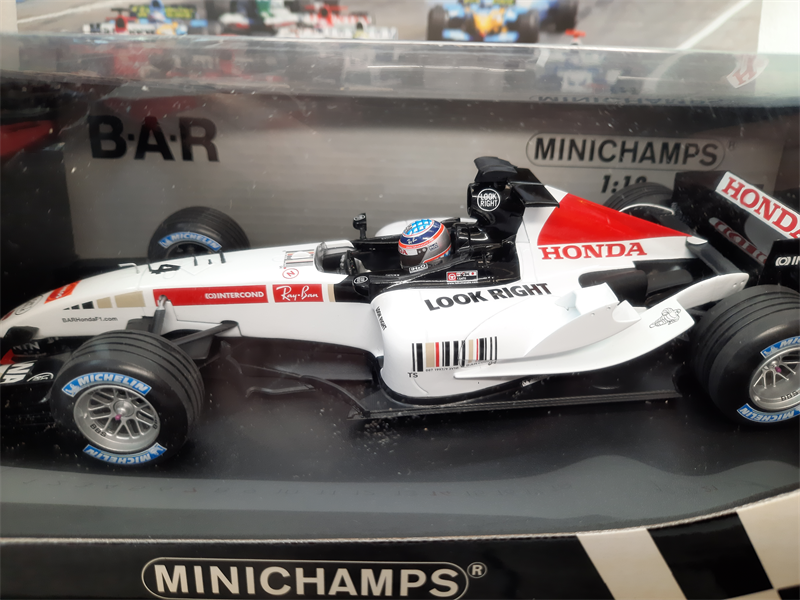 MINICHAMPS MODEL  B.A.R Hodna 1:18