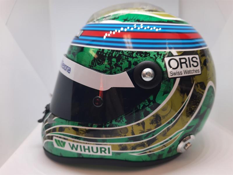 Helma Felipe Massa Williams Mercedes posledné preteky