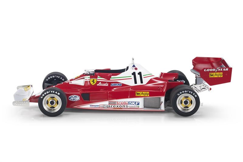 GP REPLICAS MODEL Niki Lauda FERRARI - F1 312T2 SIX WHEELS (6 RUOTE) N 11 NIKI LAUDA SEASON 1977 WORLD CHAMPION