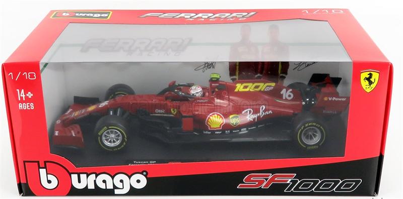 Bburago Model Scuderia Ferrari SF1000 Leclerc