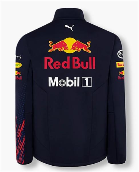 Tímová Softshell Vetrovka Red Bull