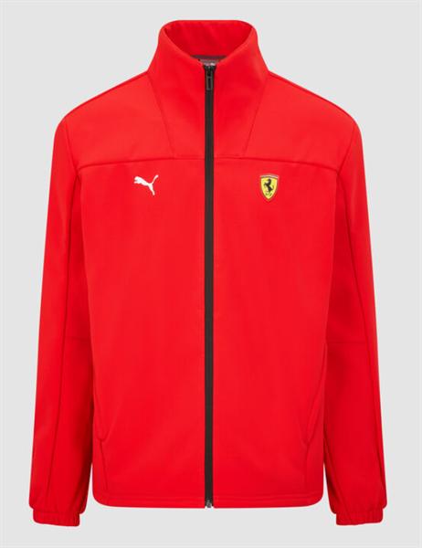 Softshell vetrovka Scuderia Ferrari červená