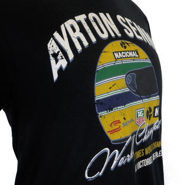 Tričko Ayrton Senna T-Shirt Vintage World Champion