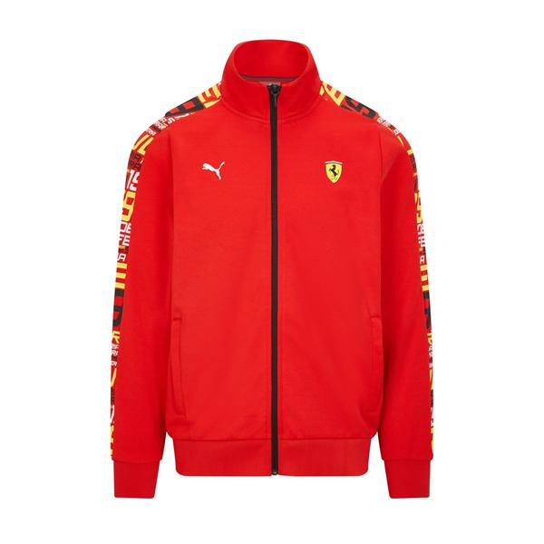 Mikina Scuderia Ferrari Track červená