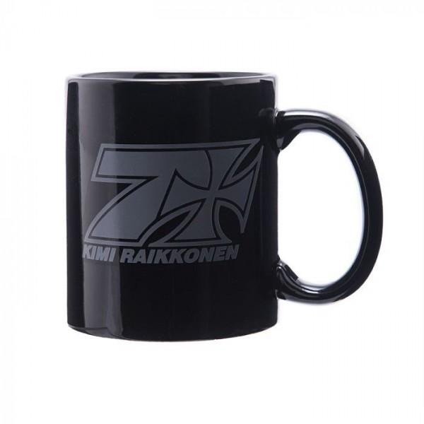 Hrnček Kimi Räikkönen Cup Cross Seven black