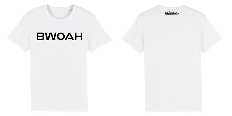 Biele tričko Bwoah