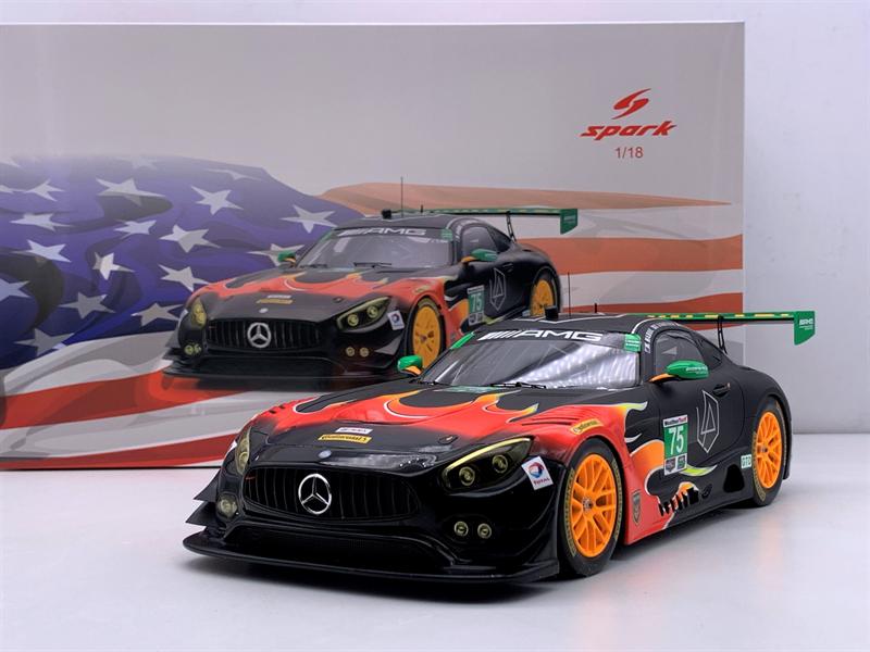 SP - MERCEDES BENZ - 1/18 - AMG GT3 TEAM SUNENERGY 1 RACING N 75 24h LE MANS 2017 T.VAUTIER - K.HABUL - D.VON MOLTKE