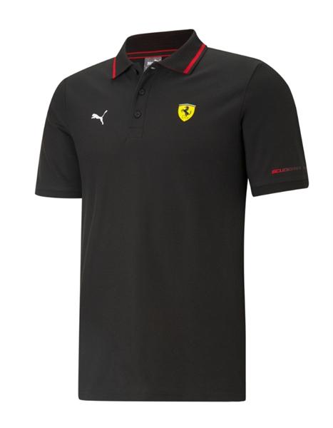 Polokošeľa Scuderia Ferrari čierna