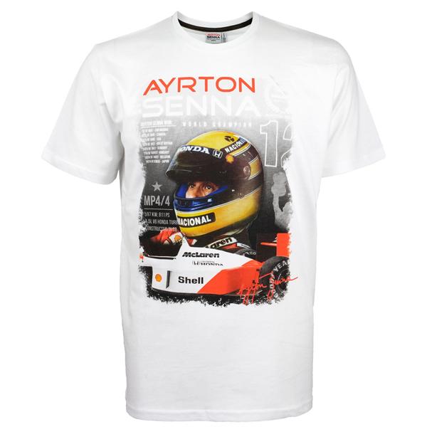 Ayrton Senna McLaren T-Shirt World Champion 1988