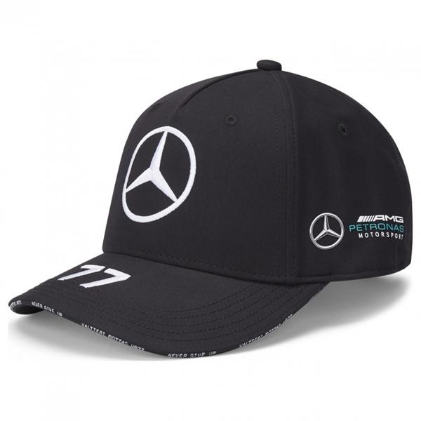Šiltovka Mercedes Bottas čierna