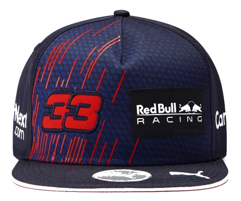 Šiltovka Red Bull Racing Max Flat
