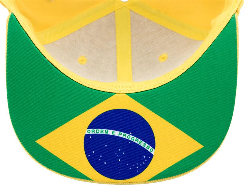 Šiltovka Ayrton Senna Flat Brazil