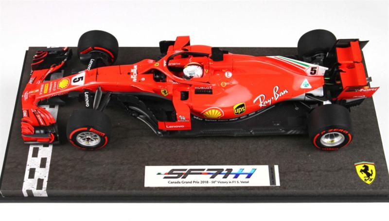 BBR Model  Scuderia Ferrari Sebastian Vettel SF71-H