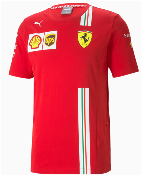 Tímové tričko Scuderia Ferrari Sainz
