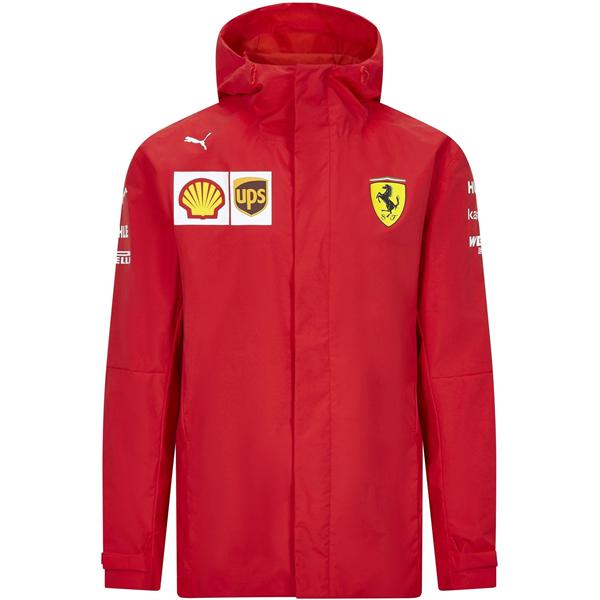 Scuderia Ferrari Team Mens Rain Jacket 2021