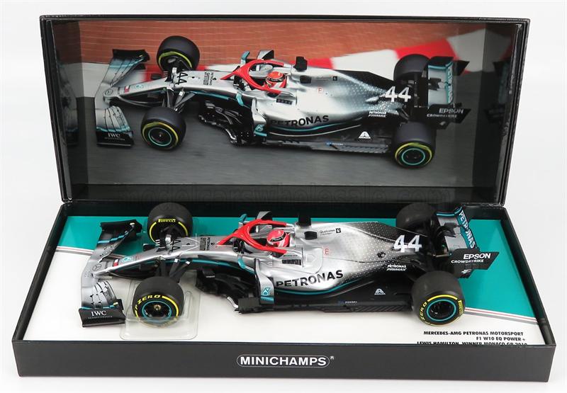 Minichamps Model Mercedes F1 W10 EQ Lewis Monaco