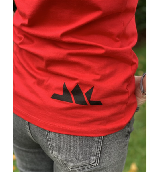 Dámske tričko Josef Král červené
