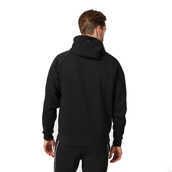 Mikina McLaren čierna s kapucňou