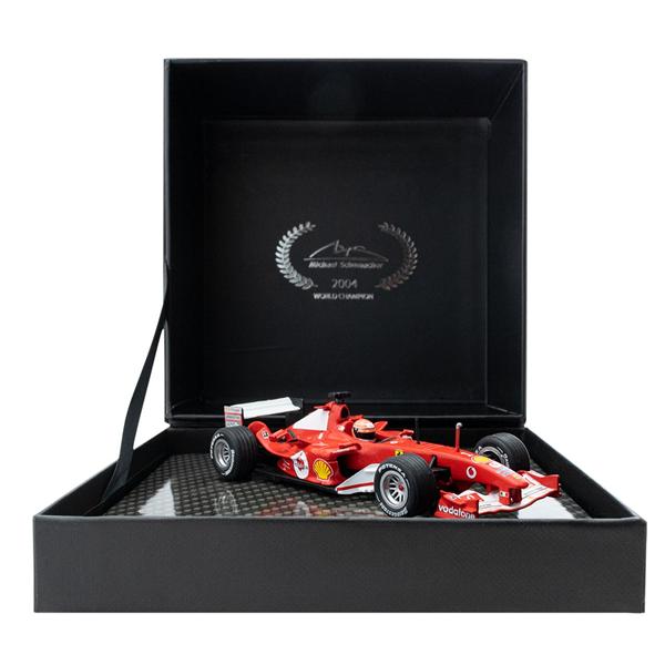Model Michael Schumacher Ferrari F2004 Winner Japan GP F1 2004 1/43
