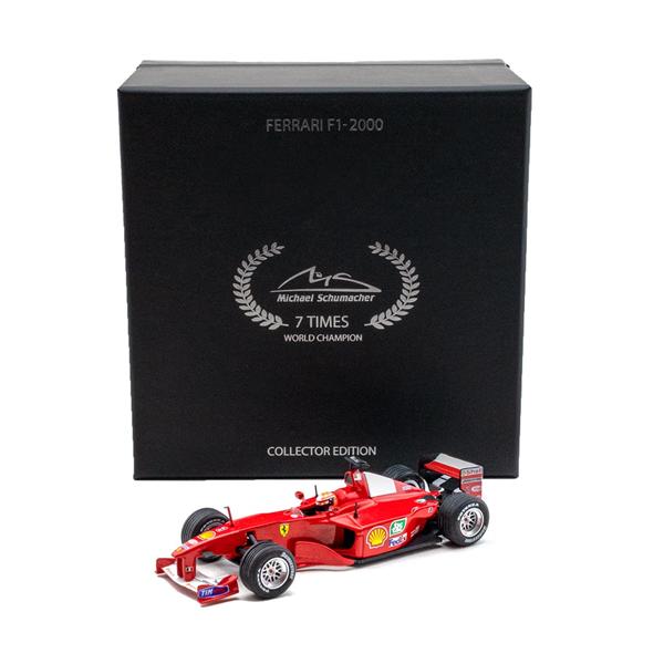 Model Michael Schumacher Ferrari F1-2000 Winner Europe GP 2000