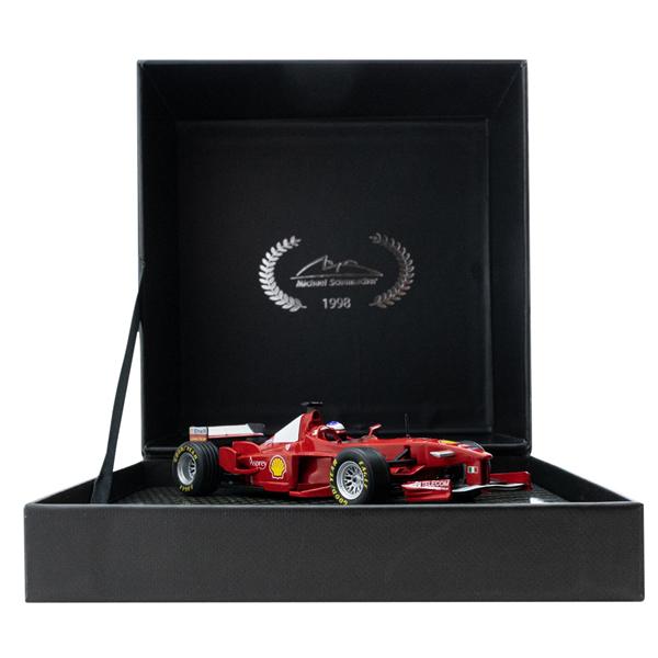 Model Michael Schumacher Ferrari F300 Winner French GP F1 1998