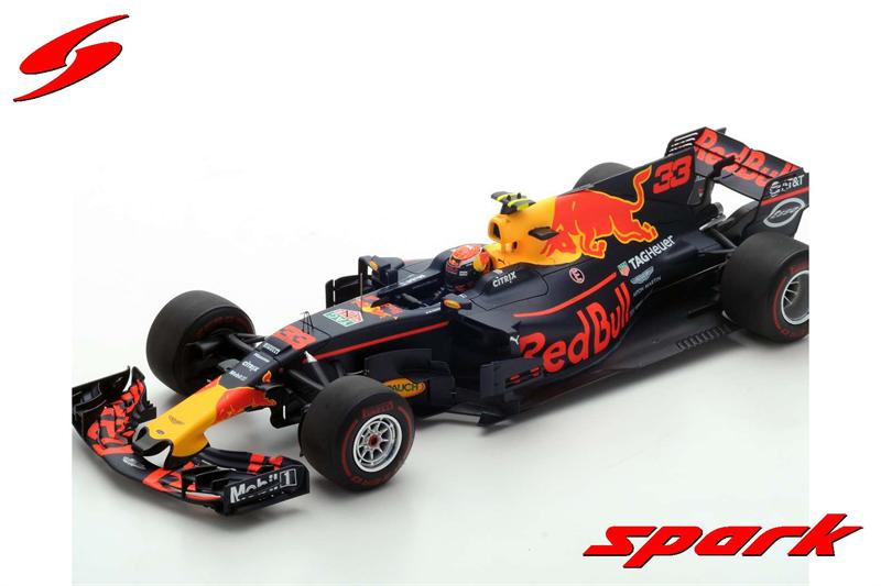 Spark Model Red Bull Racing Winner Malyasian 2017