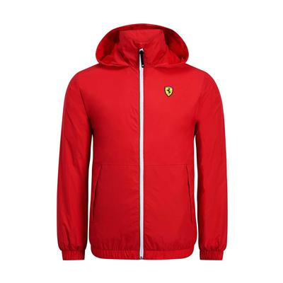 Tenká vetrovka Scuderia Ferrari Červená