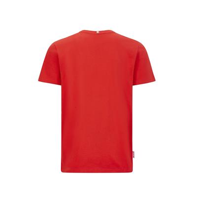 Tričko Scuderia Ferrari s talianskou trikolórou