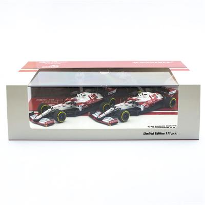 Set modelov Alfa Romeo Racing 2021 ORLEN C41 Räikkönen / Giovinazzi Limited Edition 1/43